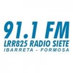 Logo da emissora Radio Siete 91.1 FM