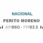 Logo da emissora Radio Nacional Perito Moreno 860 AM 93.5 FM
