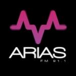 Logo da emissora Radio Arias 91.1 FM