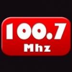 Logo da emissora Radio Monterrico 100.7 FM