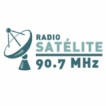 Logo da emissora Radio Satélite 90.7 FM