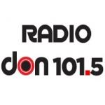 Logo da emissora Radio Don 101.5 FM