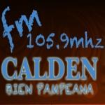 Logo da emissora Radio Calden 105.9 FM