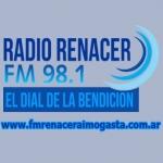 Logo da emissora Radio Renacer 98.1 FM