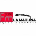 Logo da emissora Radio La Maquina 91.9 FM