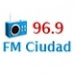 Logo da emissora Radio Ciudad 96.9 FM