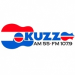 Logo da emissora Radio KUZZ 550 AM 107.9 FM