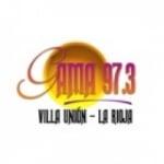 Logo da emissora Radio Gama 97.3 FM