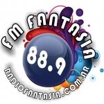 Logo da emissora Radio Fantasia 88.9 FM