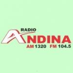 Logo da emissora Radio Andina 1320 AM 104.5 FM
