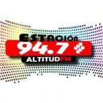 Logo da emissora Radio Estación Altitud 94.7 FM