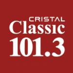 Logo da emissora Radio Cristal Classic 101.3 FM