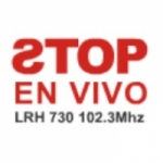 Logo da emissora Radio Stop 102.3 FM