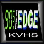 Logo da emissora Radio KVHS 90.5 FM
