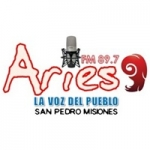 Logo da emissora Radio Aries 89.7 FM