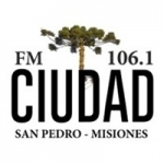 Logo da emissora Radio Ciudad 106.1 FM