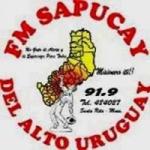 Logo da emissora Radio Sapucay 91.9 FM