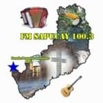 Logo da emissora Radio Sapucay 100.3 FM