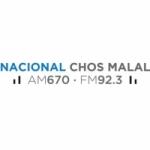 Logo da emissora Radio Nacional Chos Malal 670 AM 92.3 FM