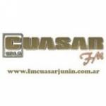 Logo da emissora Radio Cuasar 104.5 FM