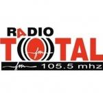 Logo da emissora Radio Total 105.5 FM