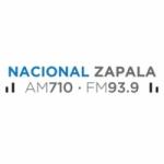 Logo da emissora Radio Nacional Zapala 710 AM 93.9 FM