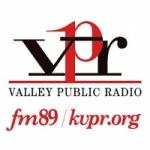 Logo da emissora Radio KVPR 89.3 FM