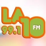 Logo da emissora Radio La Diez FM 99.1 FM
