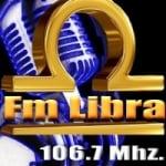 Logo da emissora Radio Libra 106.7 FM