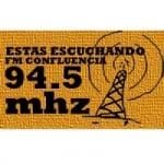 Logo da emissora Radio Confluencia 94.5 FM