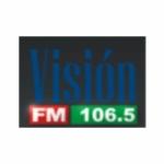 Logo da emissora Radio Visión 106.5 FM
