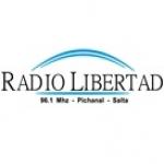 Logo da emissora Radio Libertad 96.1 FM