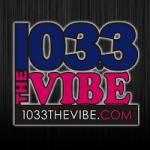 Logo da emissora Radio KVYB 103.3 FM