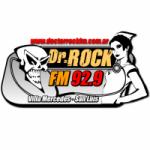 Logo da emissora Radio Dr Rock 92.9 FM