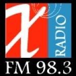Logo da emissora Radio X 98.3 FM
