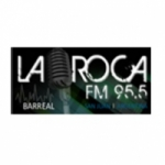 Logo da emissora Radio La Roca 95.5 FM