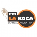 Logo da emissora Radio FM La Roca 95.5