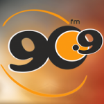 Logo da emissora Radio La 90 90.9 FM