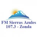 Logo da emissora Radio Sierras Azules 107.3 FM