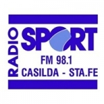 Logo da emissora Radio Sport 98.1 FM