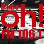 Logo da emissora Radio Oh 106.1 FM