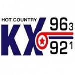 Logo da emissora Radio KXCM 96.3 FM