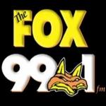 Logo da emissora KXFM 99.1 FM The Fox