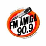Logo da emissora Radio Amiga 90.9 FM