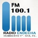 Logo da emissora Radio Endecha 100.1 FM