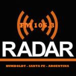Logo da emissora Radio Radar 105.3 FM
