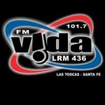 Logo da emissora Radio Vida 101.7 FM