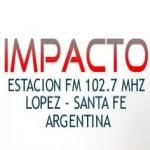 Logo da emissora Radio Impacto López 102.7 FM
