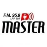 Logo da emissora Radio Master 95.9 FM