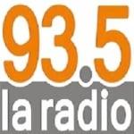 Logo da emissora La Radio 93.5 FM